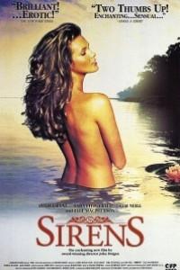 Caratula, cartel, poster o portada de Sirenas (Sirens)