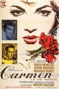 Caratula, cartel, poster o portada de Carmen, la de Ronda