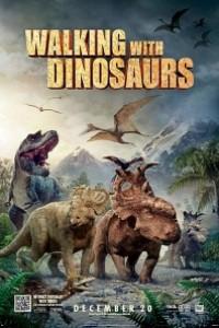 Caratula, cartel, poster o portada de Caminando entre dinosaurios