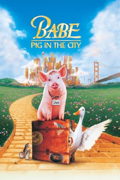 Caratula, cartel, poster o portada de Babe, el cerdito en la ciudad