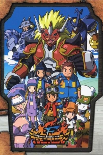 Caratula, cartel, poster o portada de Digimon Frontier (Digimon 4)
