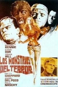 Caratula, cartel, poster o portada de Los monstruos del terror