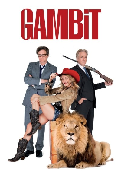 Caratula, cartel, poster o portada de Un plan perfecto (Gambit)