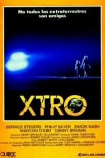 Caratula, cartel, poster o portada de Xtro