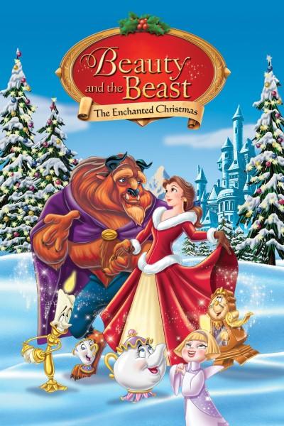 Caratula, cartel, poster o portada de La Bella y la Bestia 2: Una Navidad Encantada