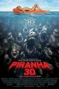Caratula, cartel, poster o portada de Piraña 3D