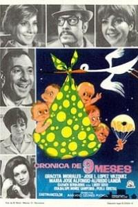 Caratula, cartel, poster o portada de Crónica de nueve meses