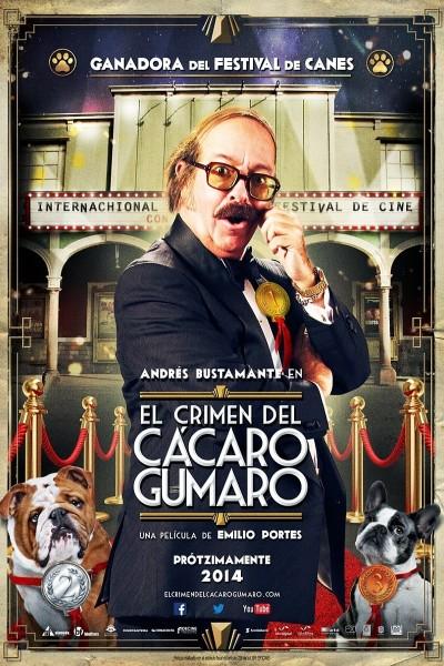 Caratula, cartel, poster o portada de El crimen del cácaro Gumaro