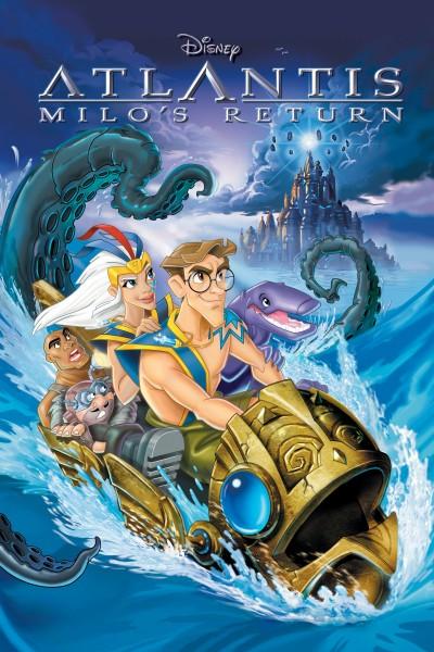 Caratula, cartel, poster o portada de Atlantis: El regreso de Milo