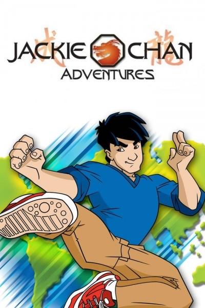 Caratula, cartel, poster o portada de Las aventuras de Jackie Chan