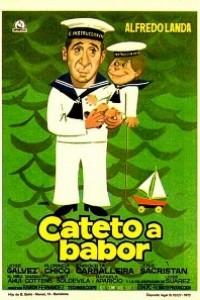 Caratula, cartel, poster o portada de Cateto a babor