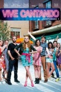 Caratula, cartel, poster o portada de Vive cantando