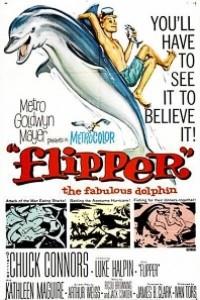 Caratula, cartel, poster o portada de Mi amigo Flipper