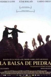 Caratula, cartel, poster o portada de La balsa de piedra