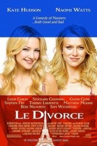 Caratula, cartel, poster o portada de Le Divorce