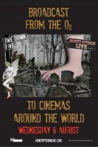Caratula, cartel, poster o portada de Monty Python en vivo (Más o menos)
