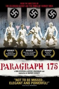 Caratula, cartel, poster o portada de Paragraph 175