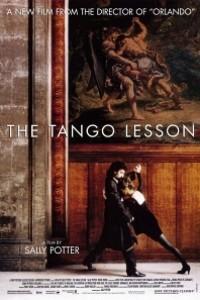 Caratula, cartel, poster o portada de La lección de tango