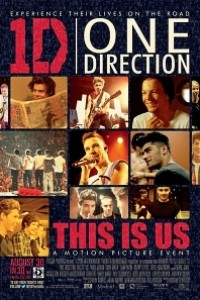 Caratula, cartel, poster o portada de One Direction: This Is Us
