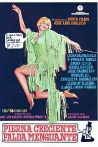Caratula, cartel, poster o portada de Pierna creciente, falda menguante