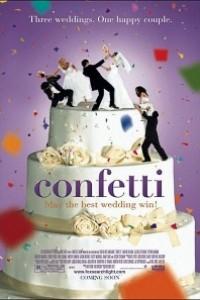 Caratula, cartel, poster o portada de Confetti