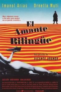Caratula, cartel, poster o portada de El amante bilingüe