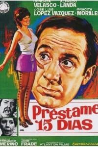 Caratula, cartel, poster o portada de Préstame quince días