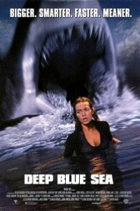 Caratula, cartel, poster o portada de Deep Blue Sea