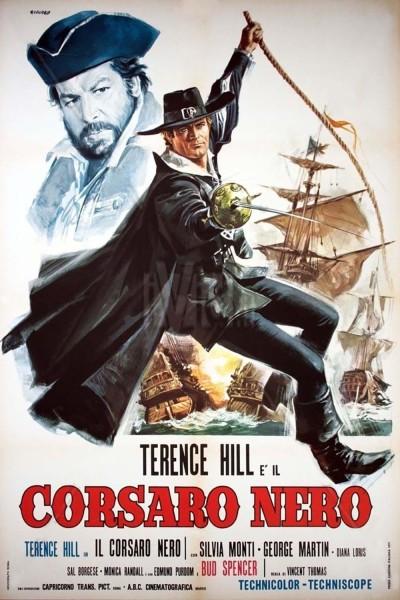 Caratula, cartel, poster o portada de El corsario Negro