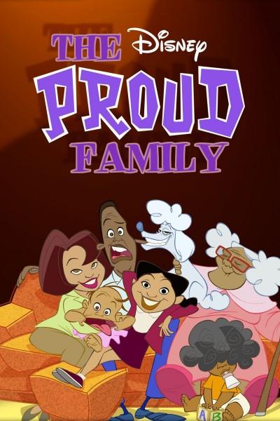 Caratula, cartel, poster o portada de Los Proud (La familia Proud)
