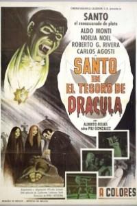 Caratula, cartel, poster o portada de Santo en El tesoro de Drácula