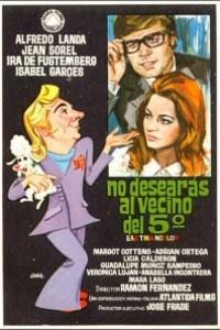 Caratula, cartel, poster o portada de No desearás al vecino del quinto