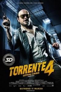 Caratula, cartel, poster o portada de Torrente 4: Lethal Crisis (Crisis Letal)