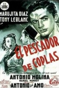 Caratula, cartel, poster o portada de El pescador de coplas