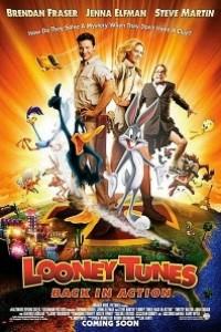 Caratula, cartel, poster o portada de Looney Tunes: De nuevo en acción