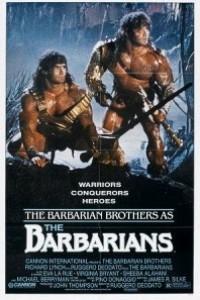 Caratula, cartel, poster o portada de Los bárbaros