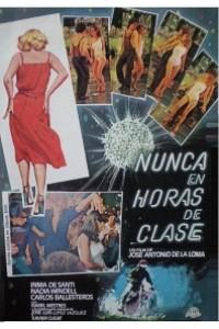 Caratula, cartel, poster o portada de Nunca en horas de clase