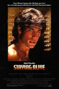 Caratula, cartel, poster o portada de Staying Alive (La fiebre continúa)