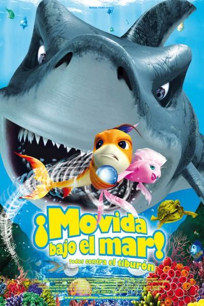 Caratula, cartel, poster o portada de Movida bajo el mar