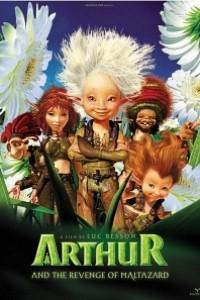 Caratula, cartel, poster o portada de Arthur y la venganza de Maltazard