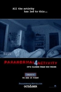 Caratula, cartel, poster o portada de Paranormal Activity 4