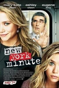 Caratula, cartel, poster o portada de Muévete, esto es Nueva York (New York Minute)