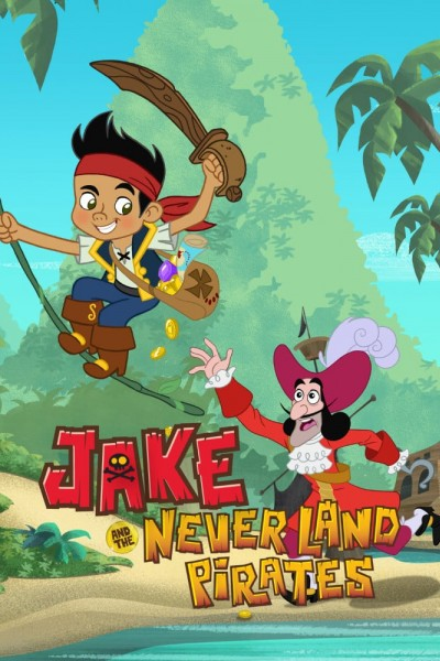 Caratula, cartel, poster o portada de Jake y los piratas de Nunca Jamás