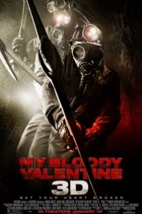 Caratula, cartel, poster o portada de San Valentín sangriento 3-D