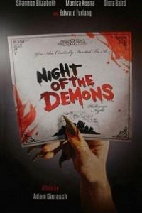 Caratula, cartel, poster o portada de La noche de los demonios