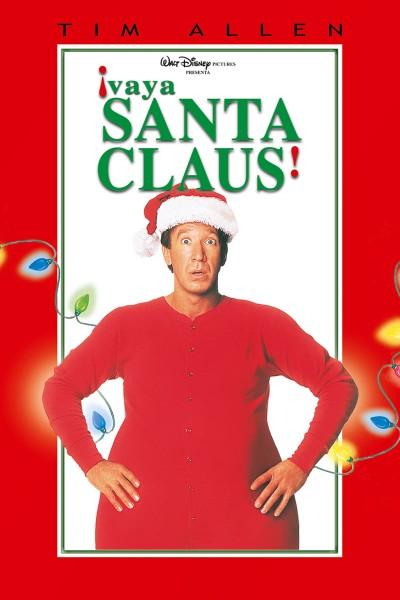 Caratula, cartel, poster o portada de ¡Vaya Santa Claus!