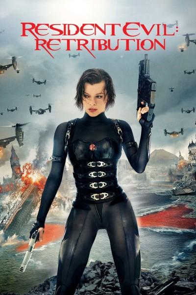 Caratula, cartel, poster o portada de Resident Evil: Venganza