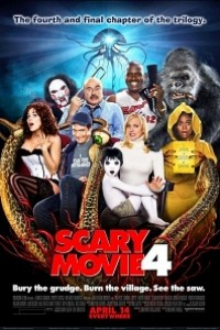 Caratula, cartel, poster o portada de Scary Movie 4