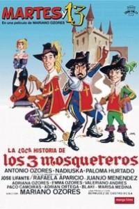 Caratula, cartel, poster o portada de La loca historia de los tres mosqueteros
