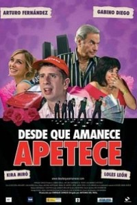 Caratula, cartel, poster o portada de Desde que amanece apetece